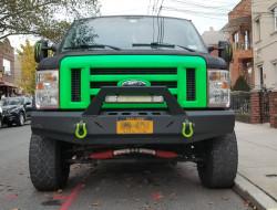 thunder struck bumper, lightning bumper, Ford E-Series, E Series, Cutaway, Pre Runner Series, Van bumper