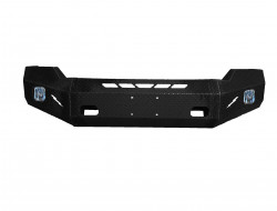 2011-16 FORD F-250/350 - DIAMOND PLATE STEEL-   PREMIUM FRONT BUMPER REPLACEMENT