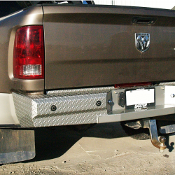 2010-12 DODGE 2500/3500 PREMIUM REAR BUMPER WITH A CUSTOM PAINT