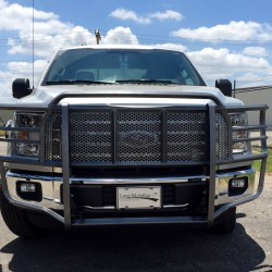 2015+ FORD F-150 GRILLE GUARD WITH A SILVER VEIN POWDER COAT